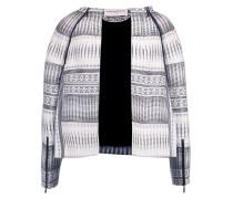 Jacquard Jacket Weiß
