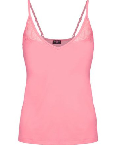 Cheyenne lace-trimmed stretch-jersey camisole