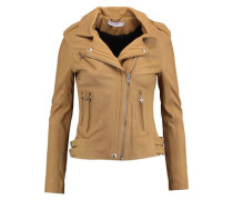 Han leather biker jacket