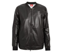 NikeCourt coated mesh bomber jacket