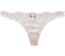 Preta Corded Lace Low-rise Thong