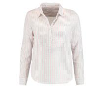 Striped Cotton Shirt Weiß