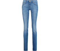 Roxanne Mid-rise Slim-leg Jeans Heller Denim