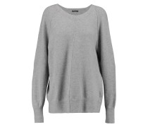 Merino Wool-blend Sweater Grau