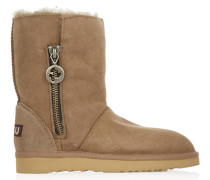 Shearling Boots Sand