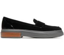 Velvet Loafers Black