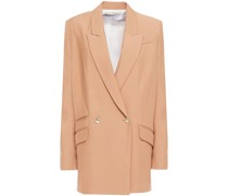 Adelie Double-breasted Twill Blazer