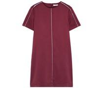Noemy Washed Silk-blend Mini Dress