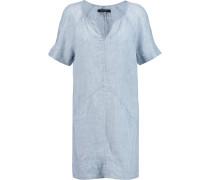Ada Linen Chambray Mini Dress Heller Denim