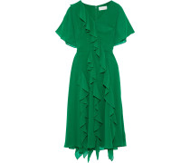 Ruffled Georgette Dress