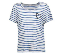 Sabine printed stretch-modal T-shirt
