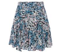 Arney Ruffled Printed Fil Coupé Mini Skirt