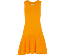 Viola Stretch-jersey Mini Dress Orange