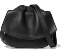 Ridge leather shoulder bag