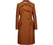 Newell Wool And Silk-blend Twill Coat