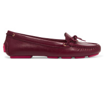 Ashby Leather Loafers Burgunder