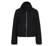 Shearling-trimmed Wool-blend Bouclé-tweed Jacket