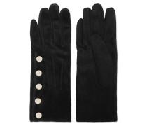 Leather Gloves Schwarz