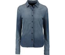 Azni Denim Shirt Mittelblauer Denim