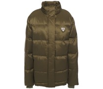 Appliquéd Quilted Shell Jacket
