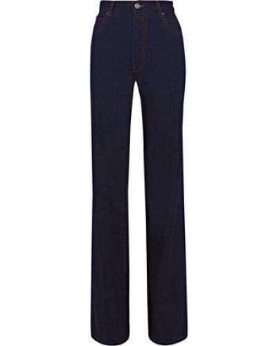 High-rise Bootcut Jeans Dark Denim  8
