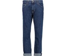 The Fling High-rise Boyfriend Jeans Dunkler Denim