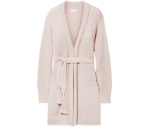Fiona Waffle-knit Cotton Robe