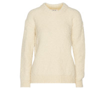 Bird Knitted Sweater Creme