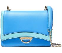 Olivia Two-tone Leather Shoulder Bag