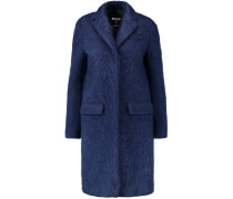 Mohair-blend Coat Königsblau