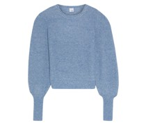 Ava Marled Mohair-blend Sweater