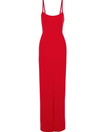 Crepe Gown Red Size 14