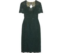 Cutout Lace Midi Dress