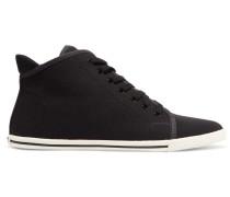 Canvas Sneakers Schwarz