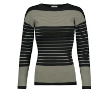 Rauris striped stretch-knit sweater