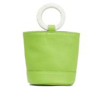 Bonsai Textured-leather Bucket Bag