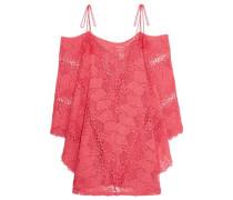 Guajira Esmeralda crocheted cotton mini dress