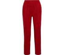 Rylie Wool Straight-leg Pants