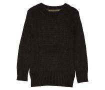 Knitted Sweater Schwarz