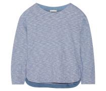 Lorelei Cotton-jersey Pajama Top Blau