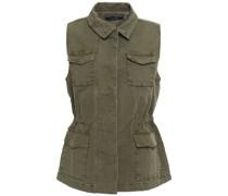 Cotton-canvas Vest