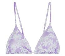 Alexa Triangel-bikini-oberteil mit Floralem Print