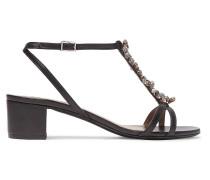 Sheldon Embellished Leather Sandals