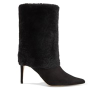Eskimo 85 Shearling And Suede Boots