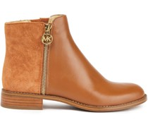 Lainey Ankle Boots aus Leder und Veloursleder