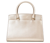 Sutton Textured-leather Tote