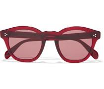 Boudreau L.a. Round-frame Acetate Sunglasses