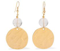 Gold-tone Bead Earrings