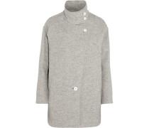 Chloane Woven Coat Hellgrau
