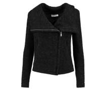 Knitted biker jacket